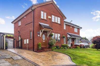 3 Bedrooms Semi Detached House for sale in Parkside, Lea, Preston, Lancashire, PR2