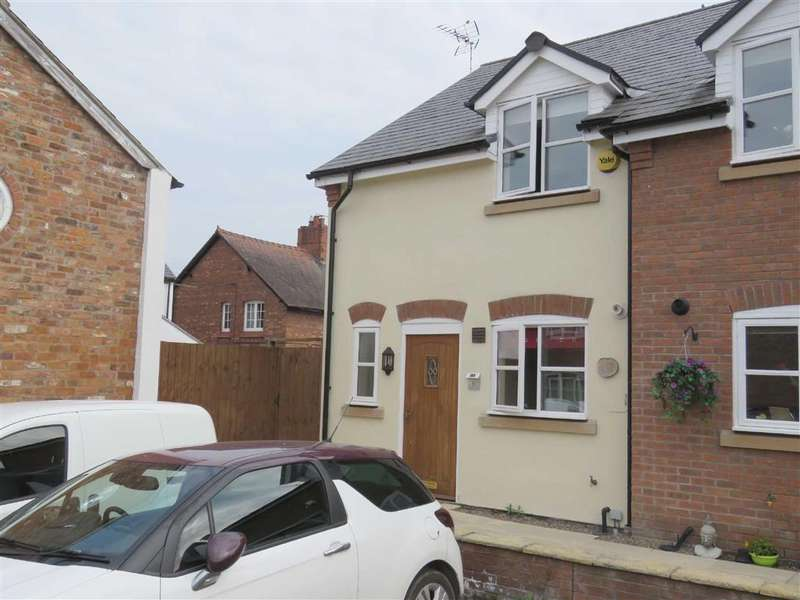 2 Bedrooms Semi Detached House for sale in Salop Mews, Overton, LL13