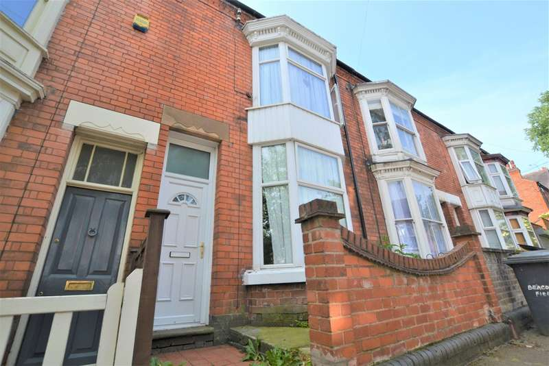 3 Bedrooms Terraced House for sale in Beaconsfield Road, Leicester LE3