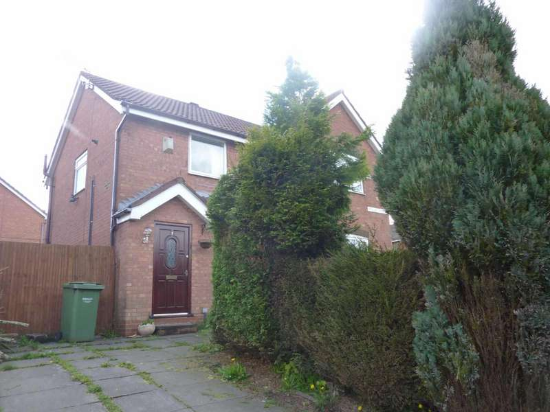 2 Bedrooms Semi Detached House for sale in Malta Street, Salem, Oldham, Greater Manchester, OL4
