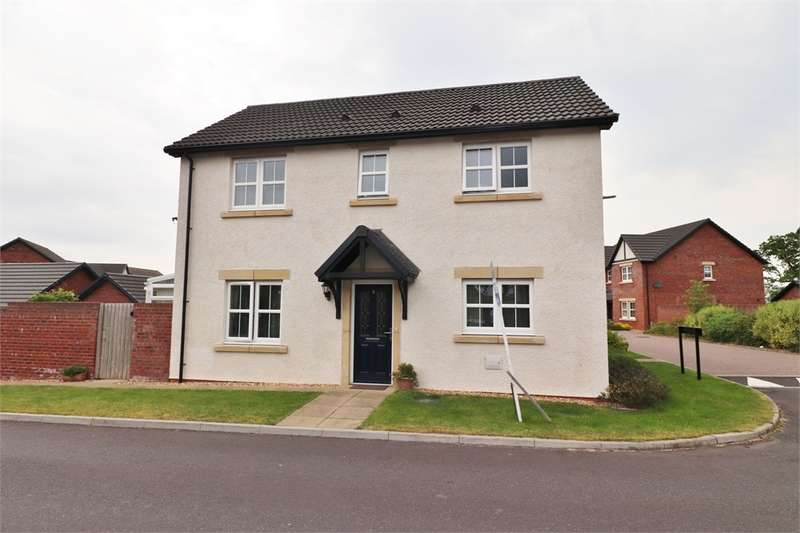 3 Bedrooms Semi Detached House for sale in CA6 4EU Charlton Way, Kingstown, Carlisle, Cumbria