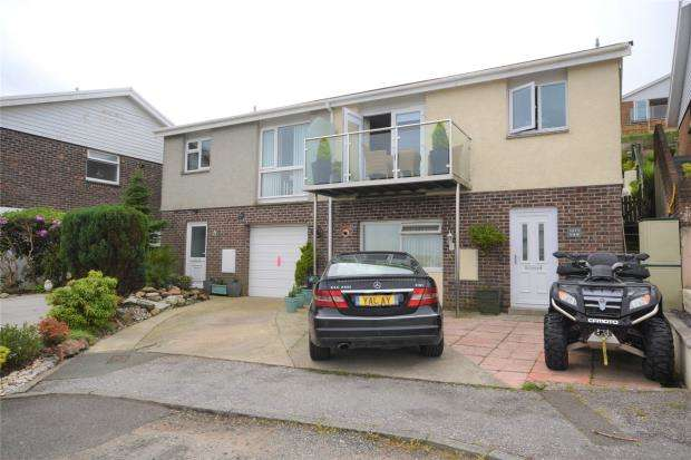 3 Bedrooms Semi Detached House for sale in Goonrea, The Downs, West Looe, Cornwall