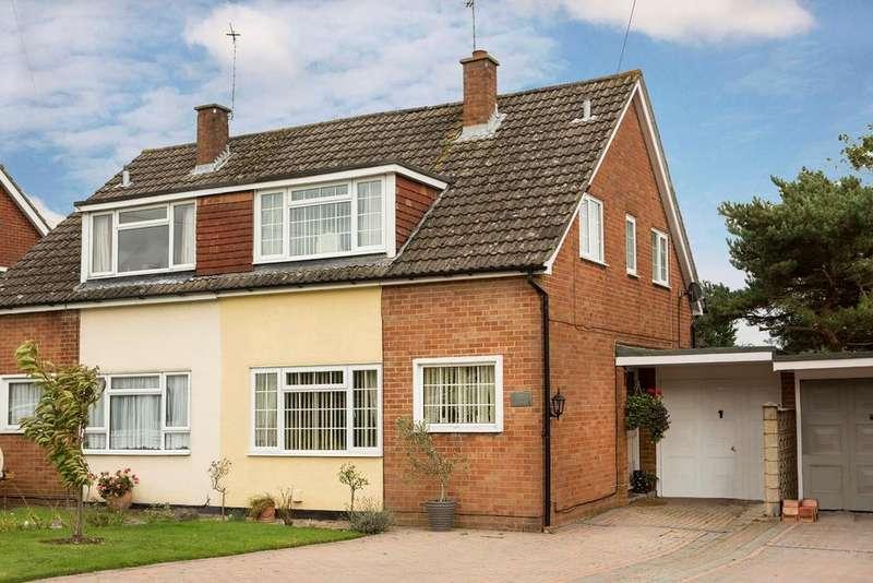 3 Bedrooms Semi Detached House for sale in Appletree Lane, Spencers Wood, Reading, RG7 1EE