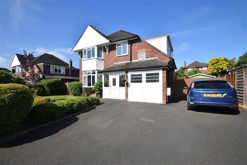 4 Bedrooms Detached House for sale in Ellesmere Drive, Greenfields, Shrewsbury