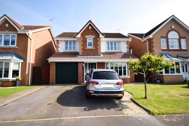 4 Bedrooms Detached House for sale in Thornthwaite Close, Skelton TS12
