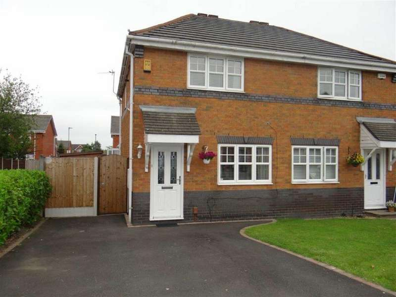 3 Bedrooms Semi Detached House for sale in Woodford Avenue, Lowton, Cheshire