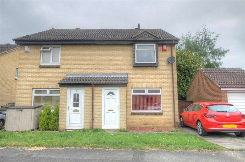 3 Bedrooms Semi Detached House for sale in Amiens Close, Darlington, DL3