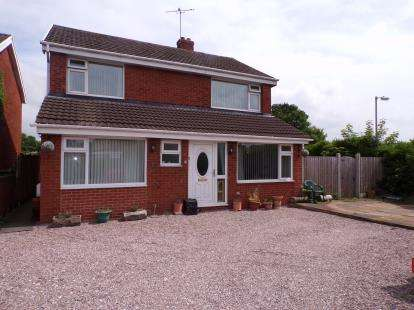 4 Bedrooms Detached House for sale in Ffordd Garmonydd, Wrexham, Wrecsam, LL12
