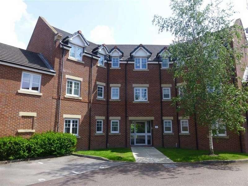 2 Bedrooms Flat for sale in Lambourne Court, Wrexham