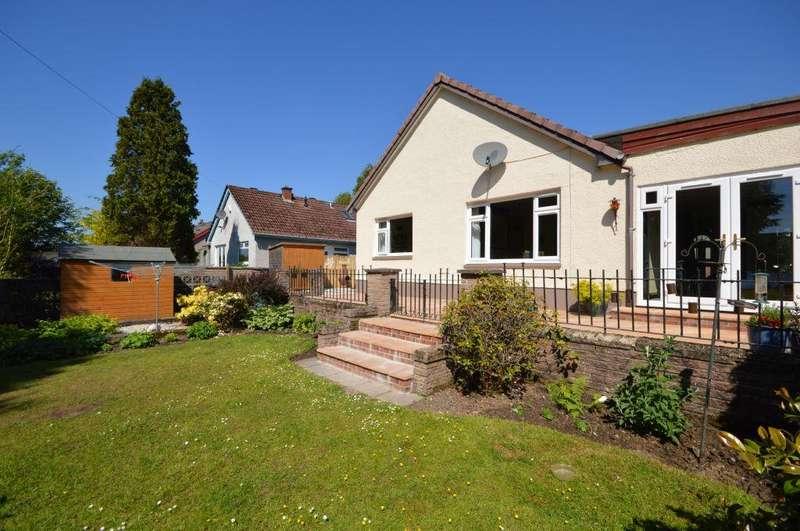 4 Bedrooms Detached Bungalow for sale in 166 Balmalloch Road, Kilsyth, Glasgow, G65 9PJ