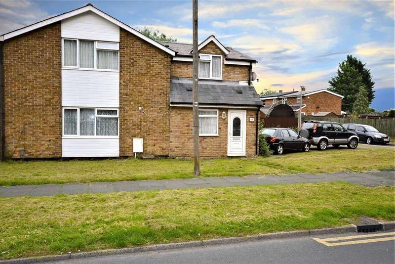 4 Bedrooms Semi Detached House for sale in Bedwell Crescent, Stevenage