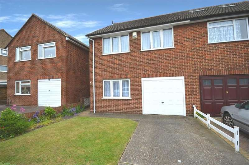 4 Bedrooms Semi Detached House for sale in Bedwell Road, Upper Belvedere