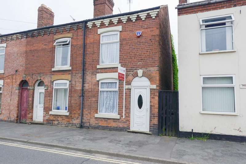 2 Bedrooms End Of Terrace House for sale in Thanet Street, Clay Cross