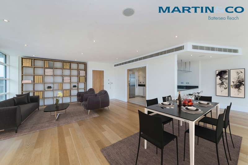 3 Bedrooms Apartment Flat for sale in Kingfisher House, Battersea Reach SW18
