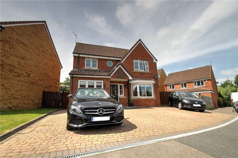 4 Bedrooms Detached House for sale in Rosecroft, Pelton, Chester Le Street, DH2