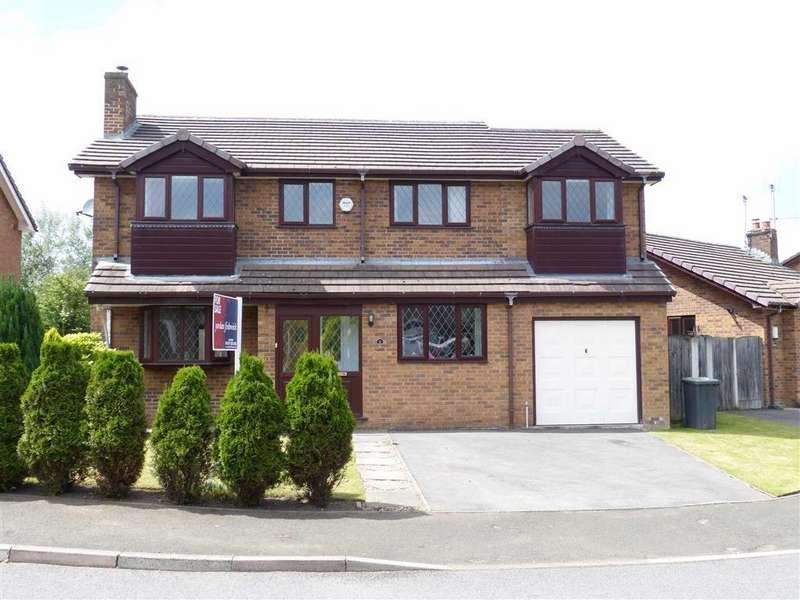 5 Bedrooms Detached House for sale in Foxlea, Glossop