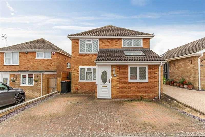 3 Bedrooms Link Detached House for sale in Bideford Green, Linslade