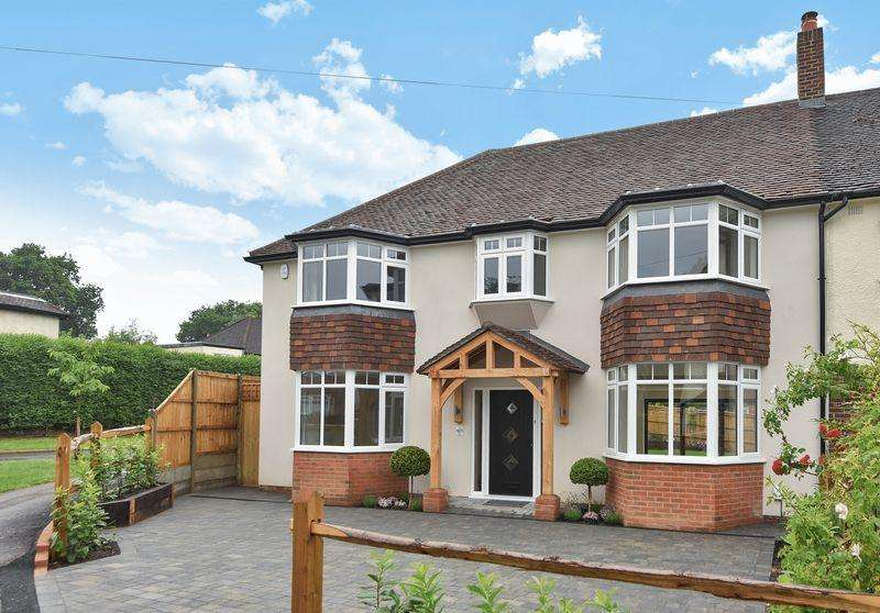 4 Bedrooms Semi Detached House for sale in EWELL