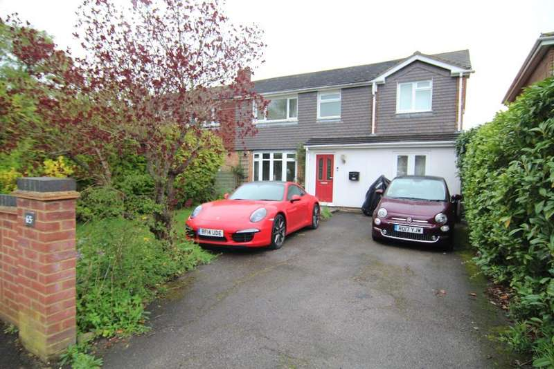 4 Bedrooms Semi Detached House for sale in Lowther Road, Wokingham, Berkshire, RG41 1JR