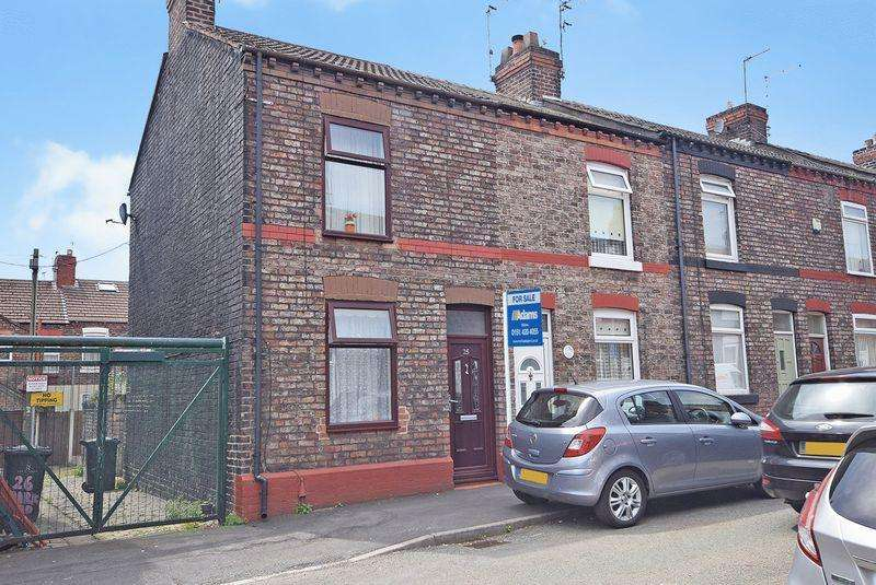 2 Bedrooms End Of Terrace House for sale in Greenway Road, Widnes