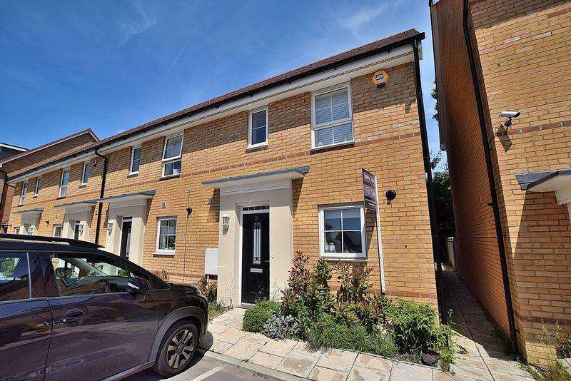 3 Bedrooms End Of Terrace House for sale in Bank Avenue, North Dunstable