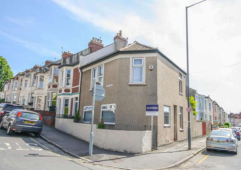3 Bedrooms End Of Terrace House for sale in Chessel Street, Bedminster, Bristol, BS3 3DG