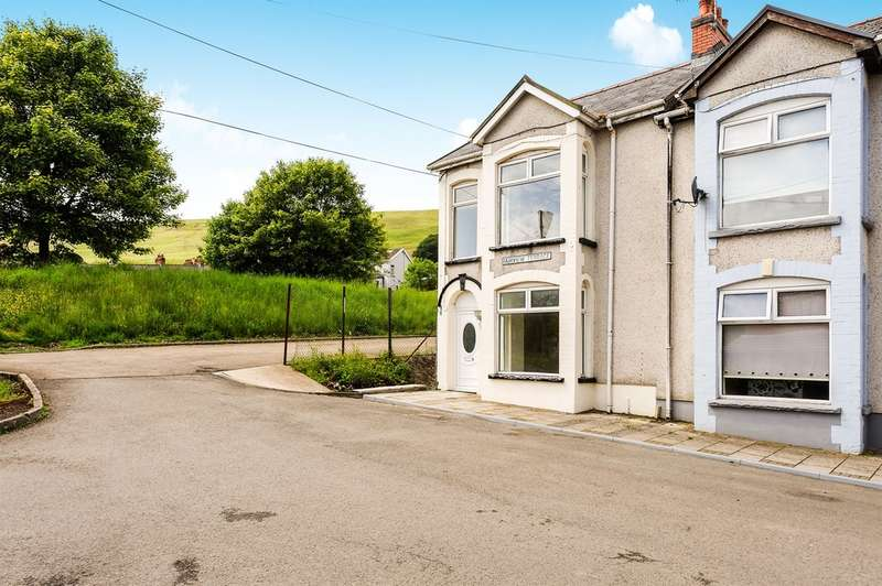 3 Bedrooms End Of Terrace House for sale in Fairview Terrace, Pontlottyn, Bargoed
