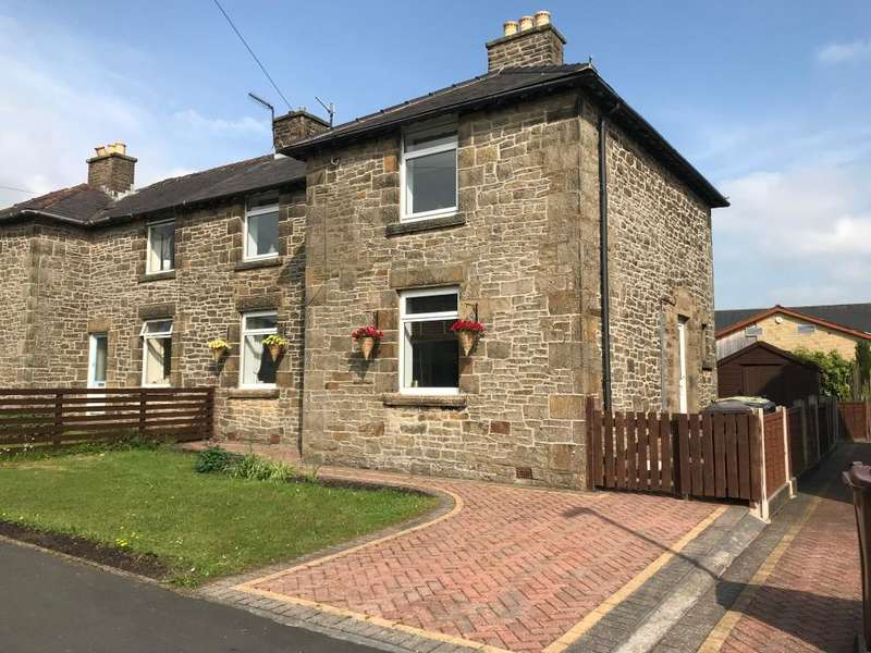 3 Bedrooms Semi Detached House for sale in Alders Avenue, Chinley, High Peak, Derbyshire, SK23 6DS