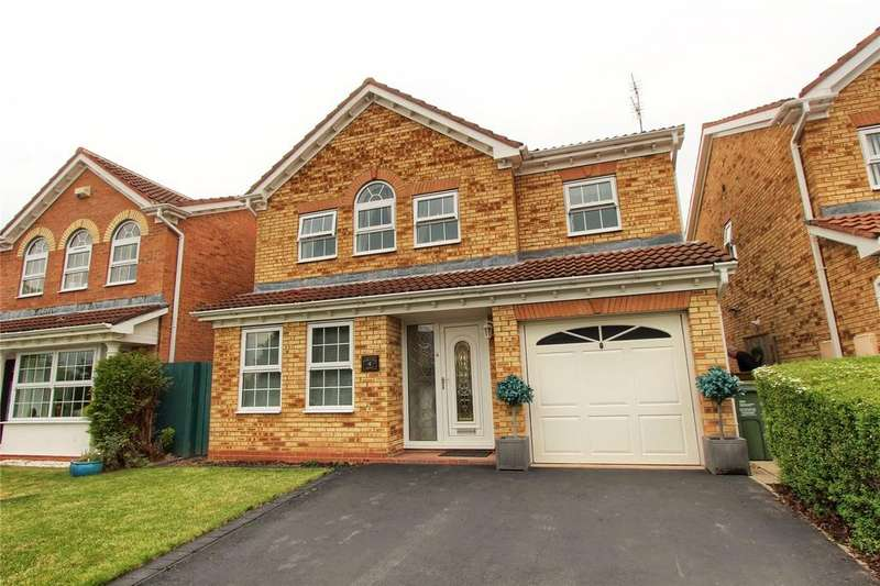 4 Bedrooms Detached House for sale in Foreland Point, Ingleby Barwick