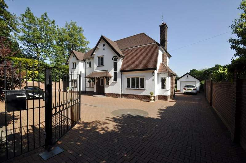 4 Bedrooms Detached House for sale in Moss Lane, Bramhall