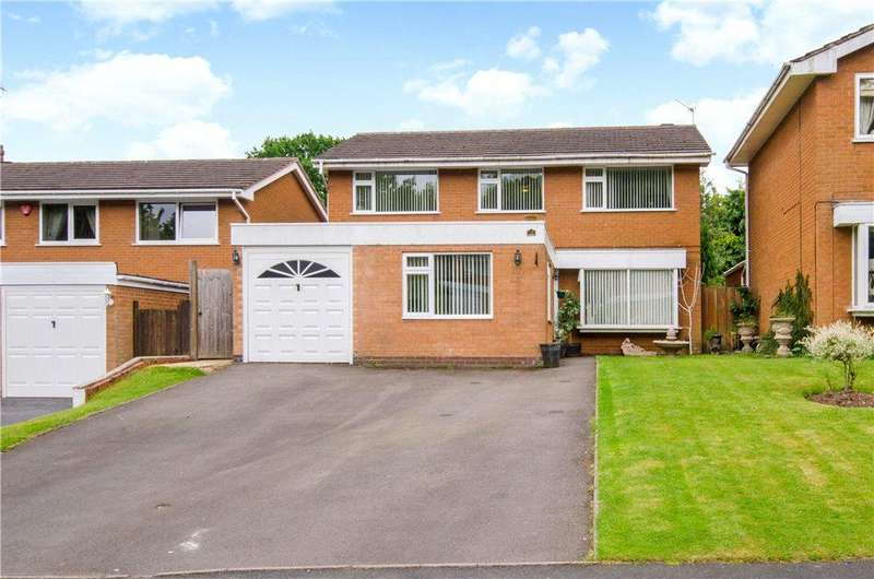 4 Bedrooms Detached House for sale in Compton Close, Redditch, Worcestershire, B98