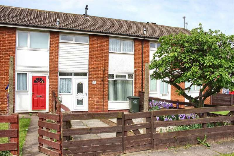 2 Bedrooms Terraced House for sale in Harlech Close, Eston