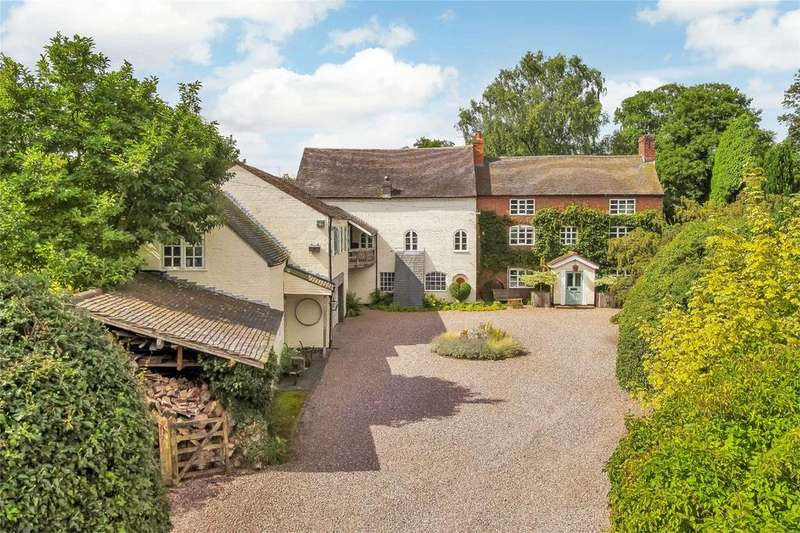 5 Bedrooms Detached House for sale in Brook End, Longdon, Rugeley, Staffordshire