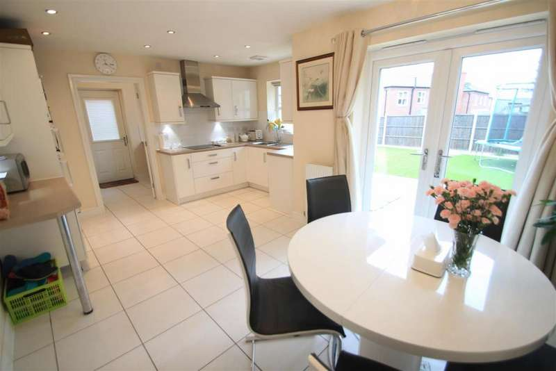 4 Bedrooms Detached House for sale in Towers Drive, Hinckley