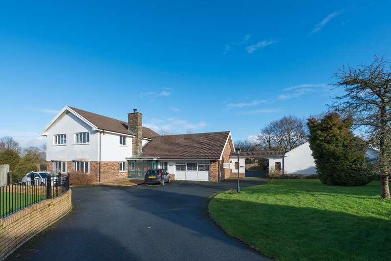 5 Bedrooms Detached House for sale in Jesse Road, Narberth, SA67