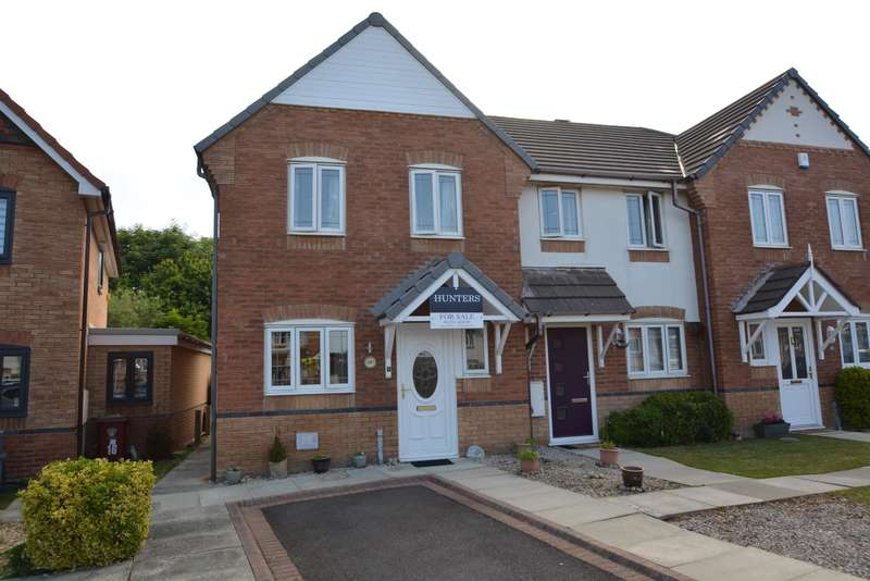 3 Bedrooms End Of Terrace House for sale in Coriander Close, Blackpool, FY2 0WE