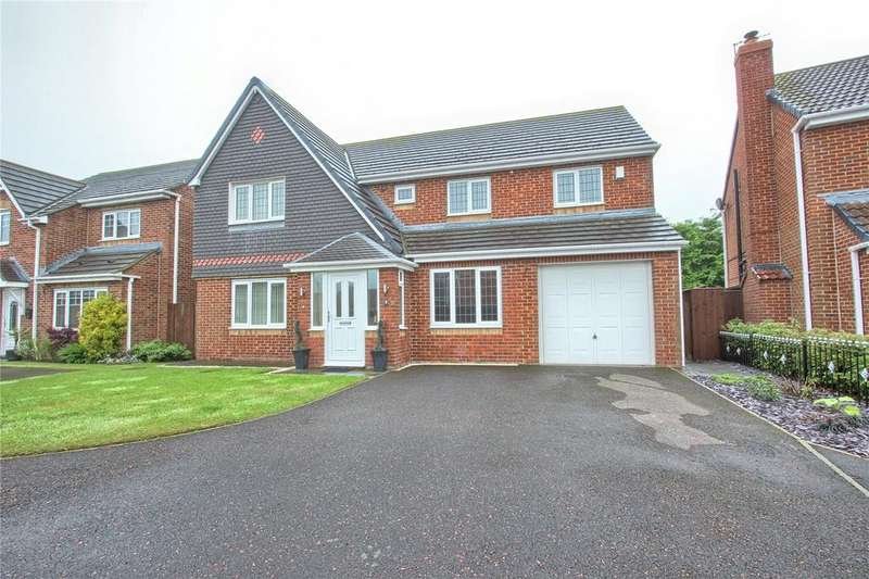 4 Bedrooms Detached House for sale in Viburnum Close, Redcar