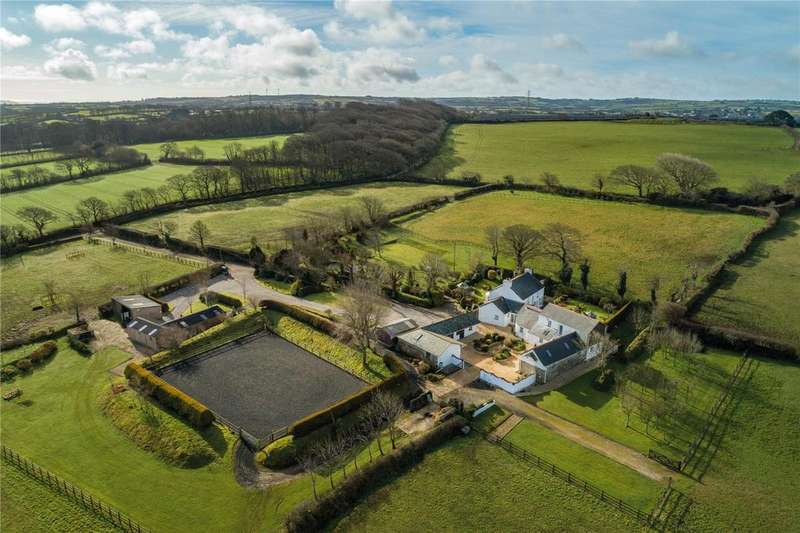 4 Bedrooms Equestrian Facility Character Property for sale in Gwennap, Near Truro, Cornwall, TR16