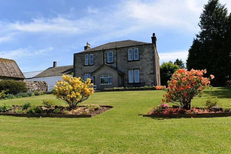 4 Bedrooms Villa House for sale in Hazliebank Farm, High Kype Road, STRATHAVEN, ML10 6PR