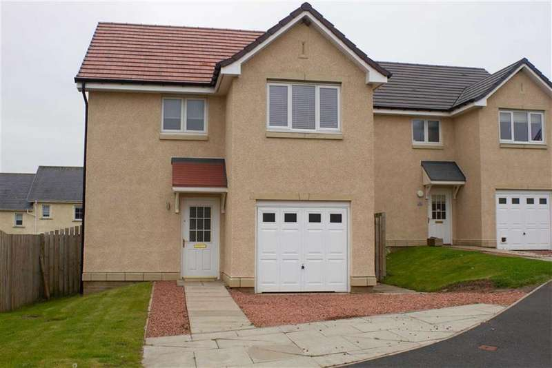 3 Bedrooms Detached House for sale in Whitehall Close, Chirnside, Berwickshire, TD11