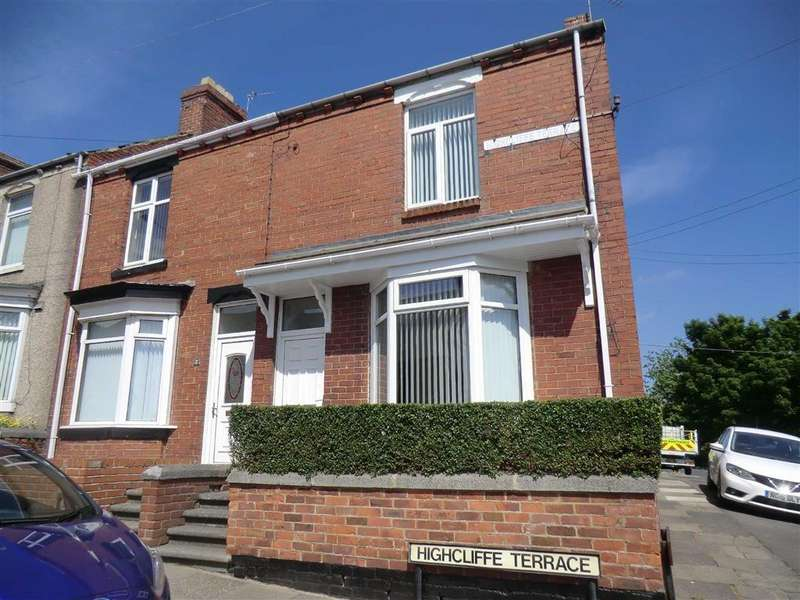 2 Bedrooms End Of Terrace House for sale in 1, Highcliffe Terrace, Ferryhill
