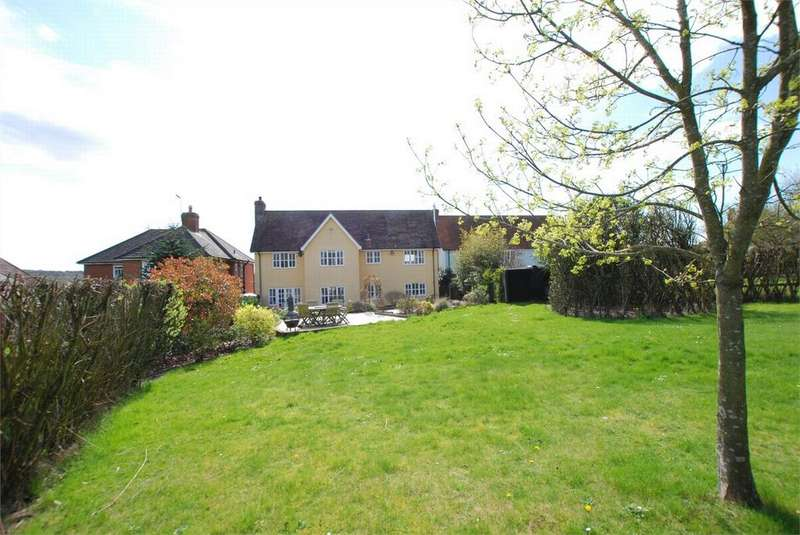 4 Bedrooms Detached House for sale in Colchester Road, White Colne, Essex