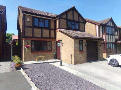 4 Bedrooms Detached House for sale in Rosina Close, Ashton-in-Makerfield, Wigan, Greater Manchester, WN4