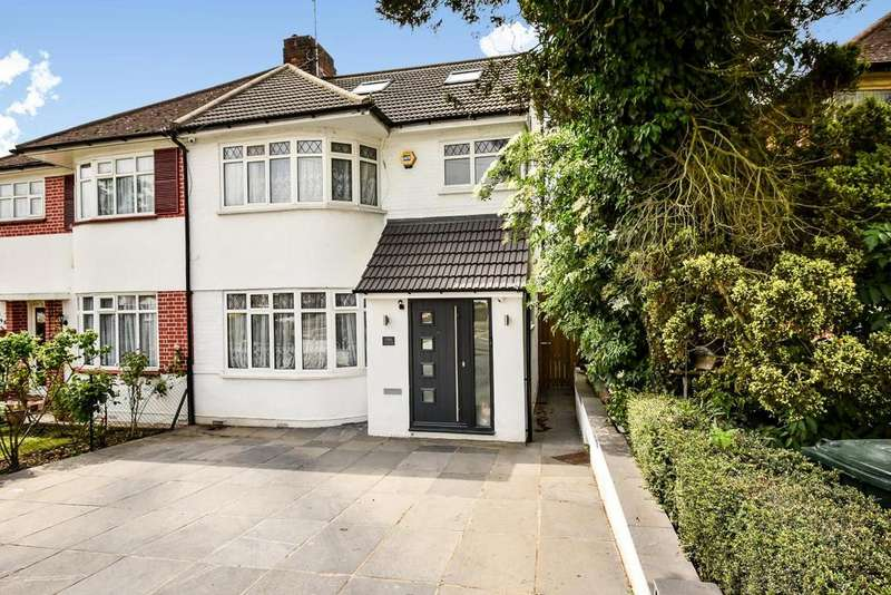 4 Bedrooms Semi Detached House for sale in Hampden Way, Southgate