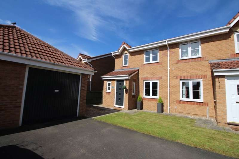 3 Bedrooms Semi Detached House for sale in Watermans Walk, Carlisle, CA1