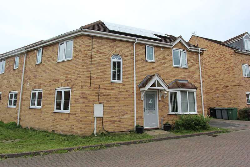 4 Bedrooms Semi Detached House for sale in Minerva Close, Ancaster, Grantham, Lincolnshire, NG32 3LJ