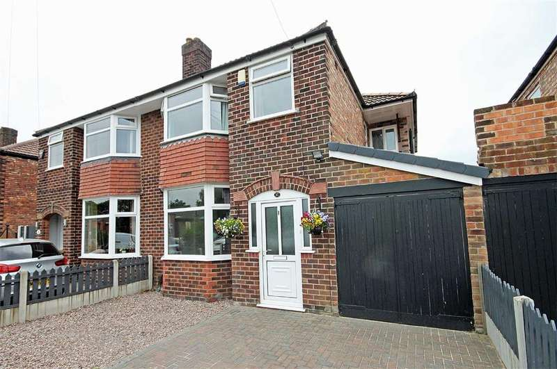 4 Bedrooms Semi Detached House for sale in Victoria Road, Timperley, Cheshire