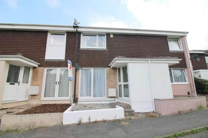2 Bedrooms Terraced House for sale in Downfield Way, Plympton
