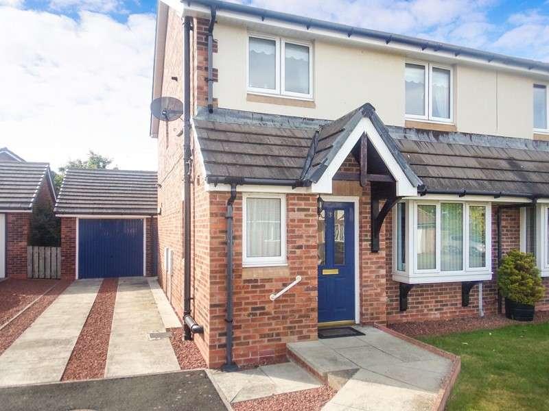 3 Bedrooms Property for sale in Croft Way, Belford, Northumberland, NE70 7ET