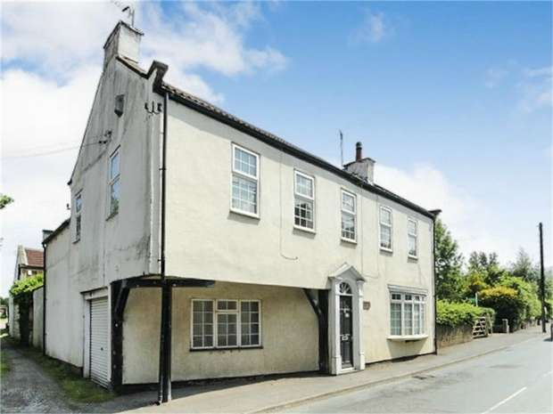 4 Bedrooms Detached House for sale in High Street, Great Broughton, Middlesbrough, North Yorkshire